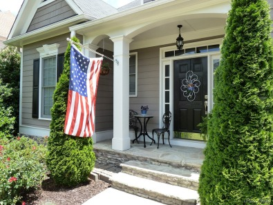 front porch flag